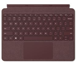 MICROSOFT Surface Go Signature Typecover - Burgundy