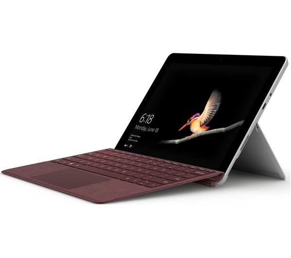 Microsoft Surface Go Signature Typecover Burgundy Deals