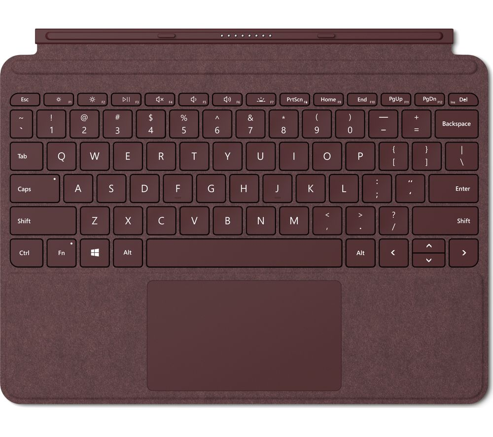 MICROSOFT Surface Go Signature Typecover - Burgundy