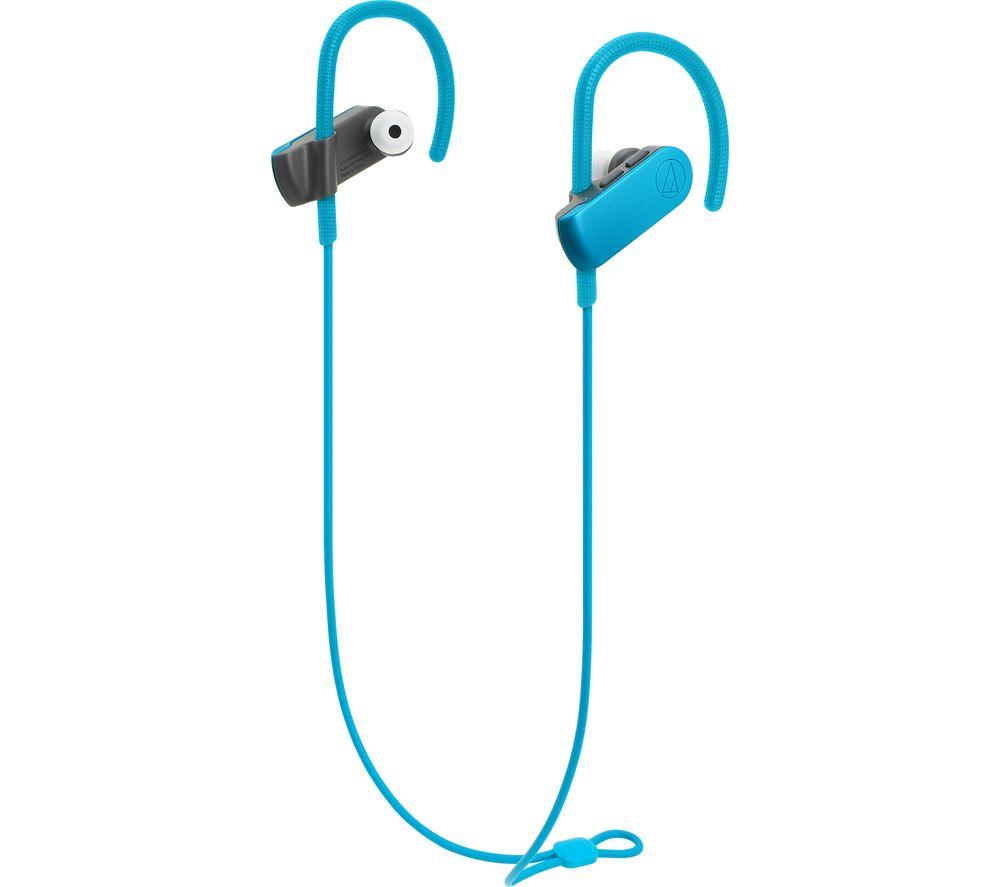 AUDIO TECHNICA SonicSport ATH-SPORT50BTBL Wireless Bluetooth Headphones - Blue