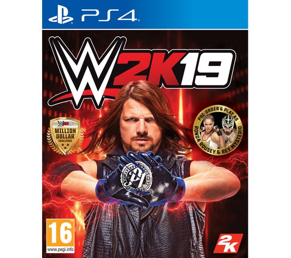 Image of PS4 WWE 2K19