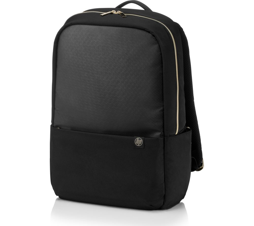"HP 15.6"" Pavilion Accent Backpack - Black & Gold"