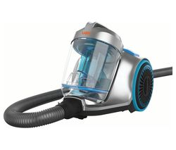 Pick Up Pet CVRAV013 Cylinder Bagless Vacuum Cleaner - Silver & Blue