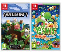 Minecraft & Yoshi's Crafted World Bundle