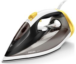 PHILIPS Azur GC4537/86 Steam Iron - Black & Yellow Best Price, Cheapest Prices