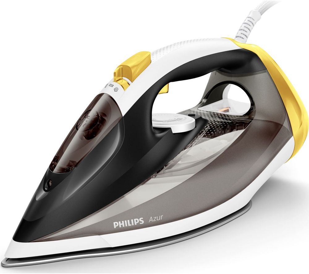 Image of Azur GC4537/86 Steam Iron - Black & Yellow, Black