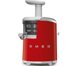 SMEG 50's Retro Style SJF01RDUK Juicer - Red Best Price, Cheapest Prices