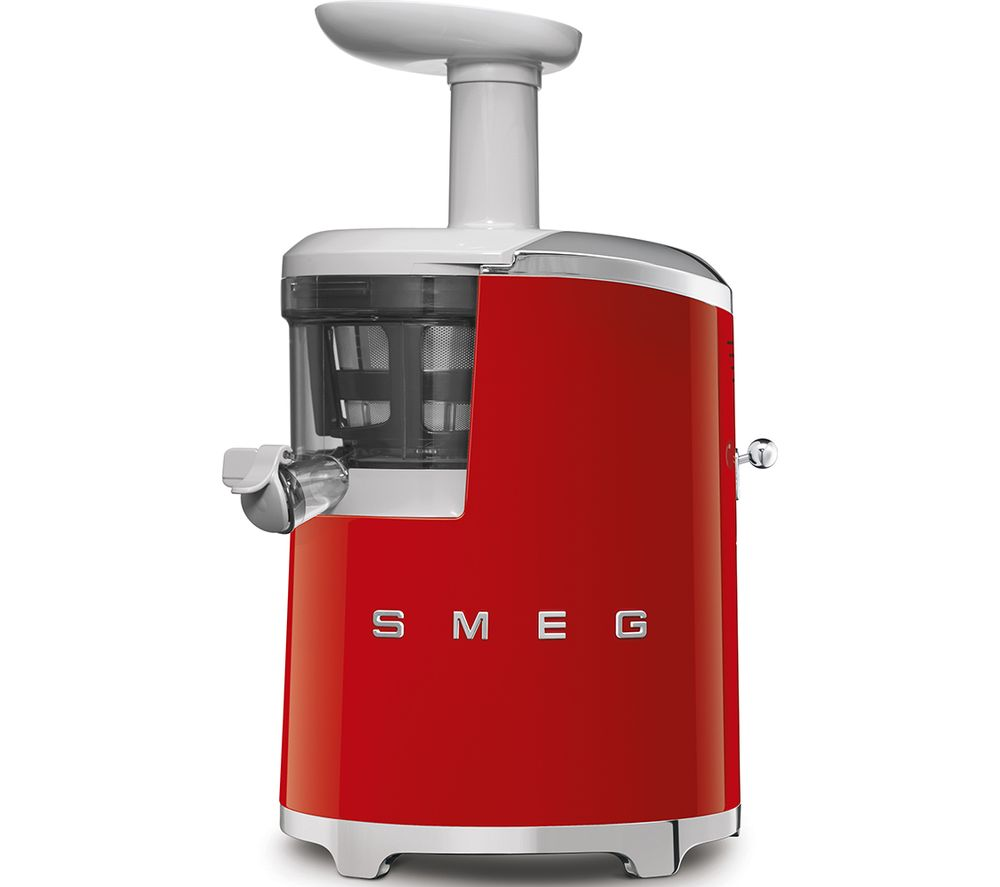 50s Retro Style SJF01RDUK Juicer - Red, Red