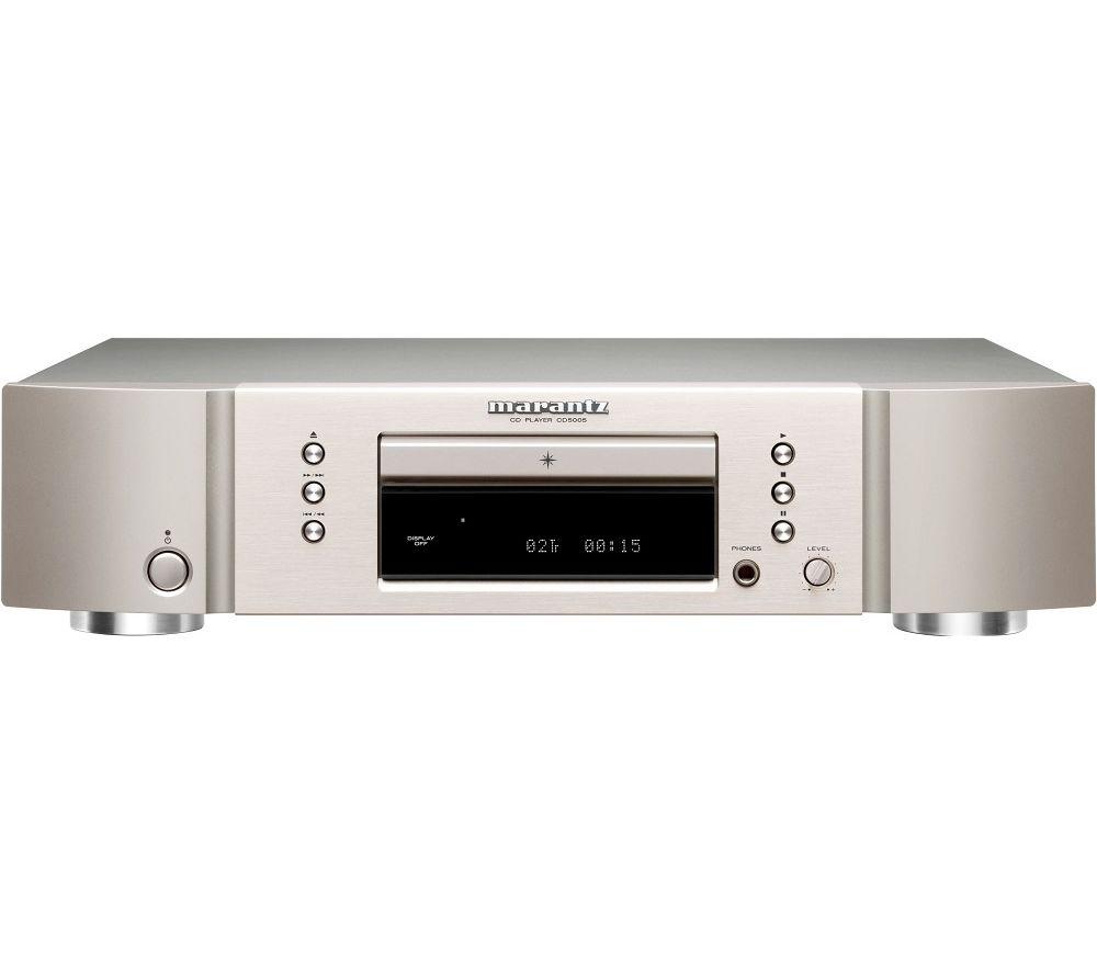 Image of MARANTZ CD5005 CD Player - Silver, Silver