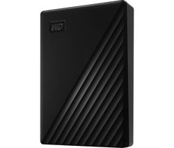 WD My Passport Portable Hard Drive - 5 TB, Black