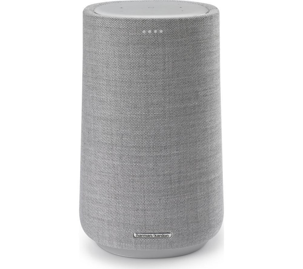 Image of Harman Kardon Citation 100 MKII Bluetooth Multi-room Speaker with Google Assistant - Grey, Grey