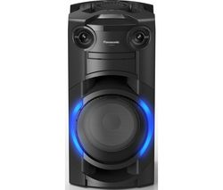 SC-TMAX10E-K Bluetooth Megasound Party Speaker - Black