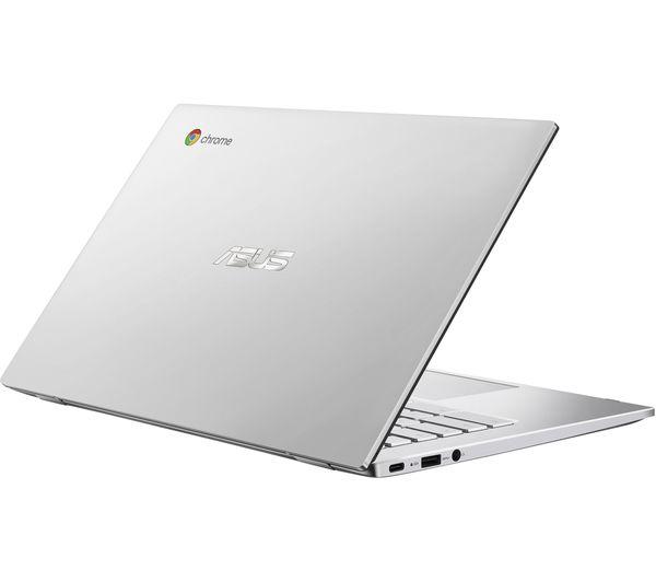 "Image of ASUS C425TA-H50021 14"" Chromebook - Intel® Core™ m3, 64 GB eMMC, Silver"