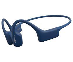 AFTERSHOKZ Xtrainerz Waterproof Sports Headphones - 4GB, Blue