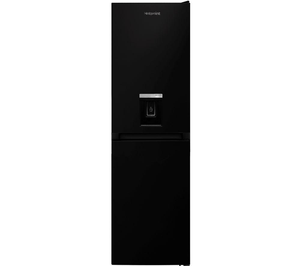 HOTPOINT Aquarius HBNF 55181 B AQUA UK 50/50 Fridge Freezer - Black