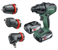 AdvancedImpact 18 Cordless Combi Drill with 2 Batteries
