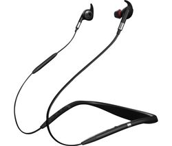 Evolve 75e UC Wireless Bluetooth Noise-Cancelling Sports Earphones - Black