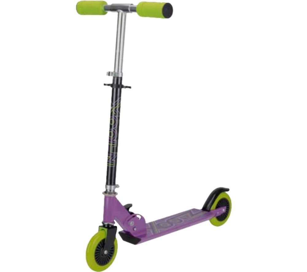 XOOTZ Atom TY6019A Kick Scooter - Purple & Green