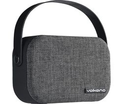 Fabric Series VK-3020-BK Portable Bluetooth Speaker - Grey