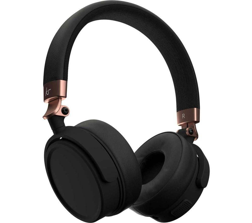 Kitsound Accent 60 KSACC60RG Wireless Bluetooth Headphones - Rose Gold, Gold