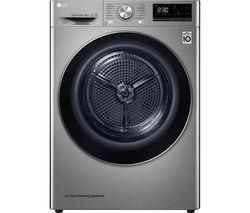 FDV909S WiFi-enabled 9 kg Heat Pump Tumble Dryer - Graphite