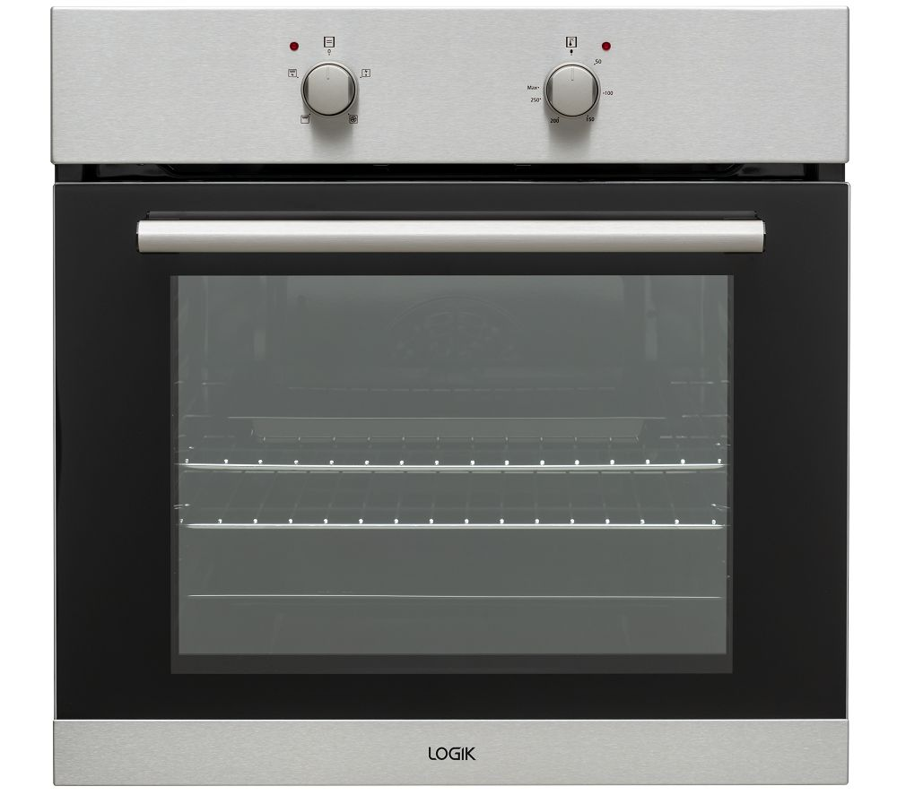 LOGIK LBFANX20 Electric Oven - Stainless Steel