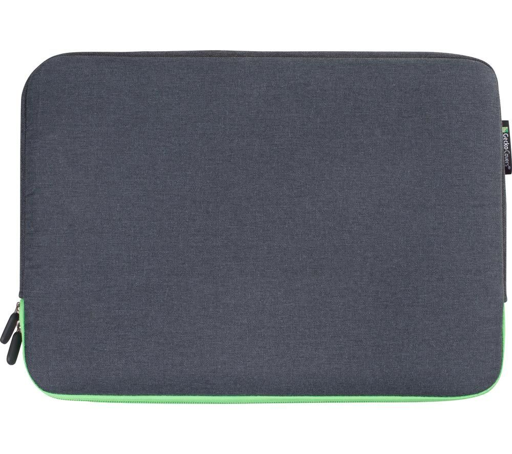 "GECKO COVERS Universal ZSL13C7 13"" Laptop Sleeve - Grey & Green"