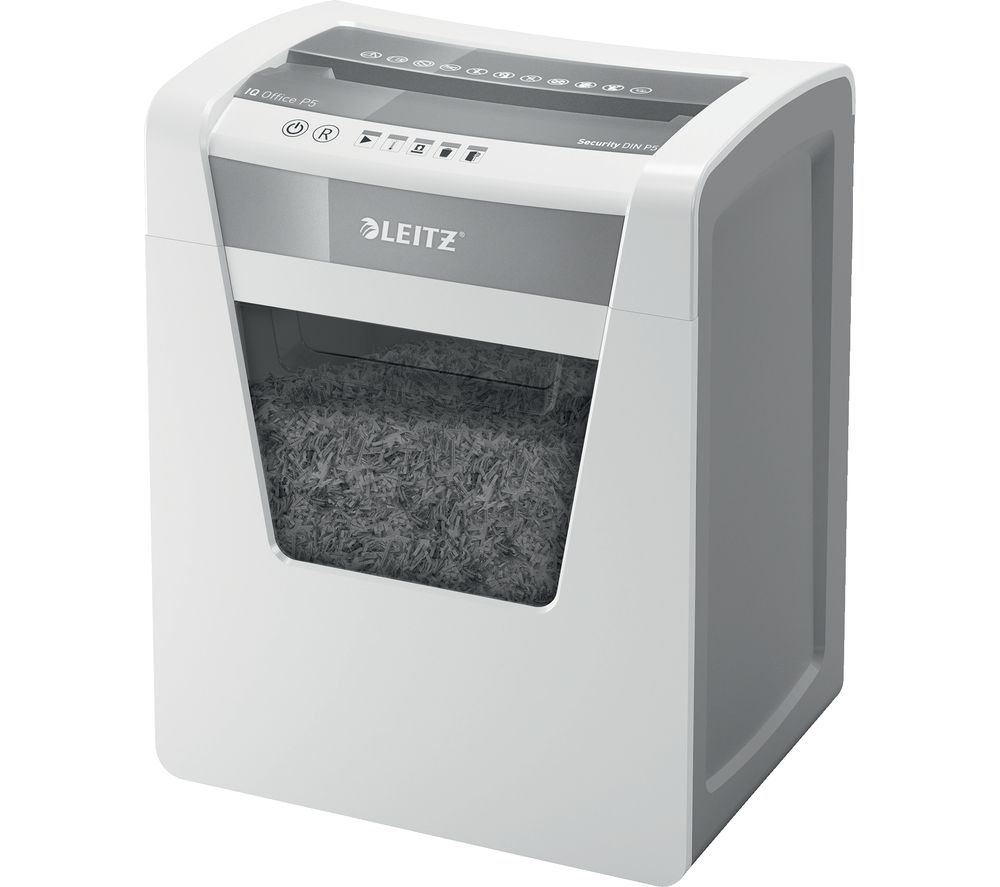 LEITZ IQ Office P5 Micro Cut Paper Shredder