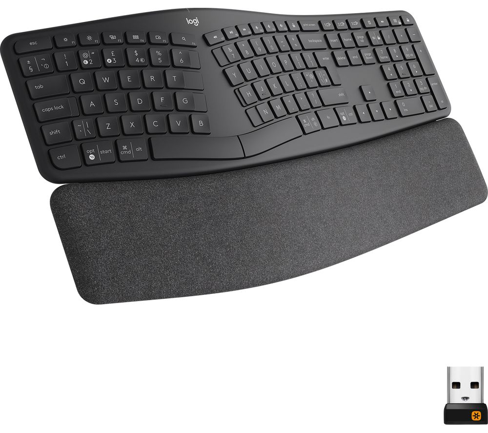 Image of LOGITECH ERGO K860 Wireless Keyboard - Graphite