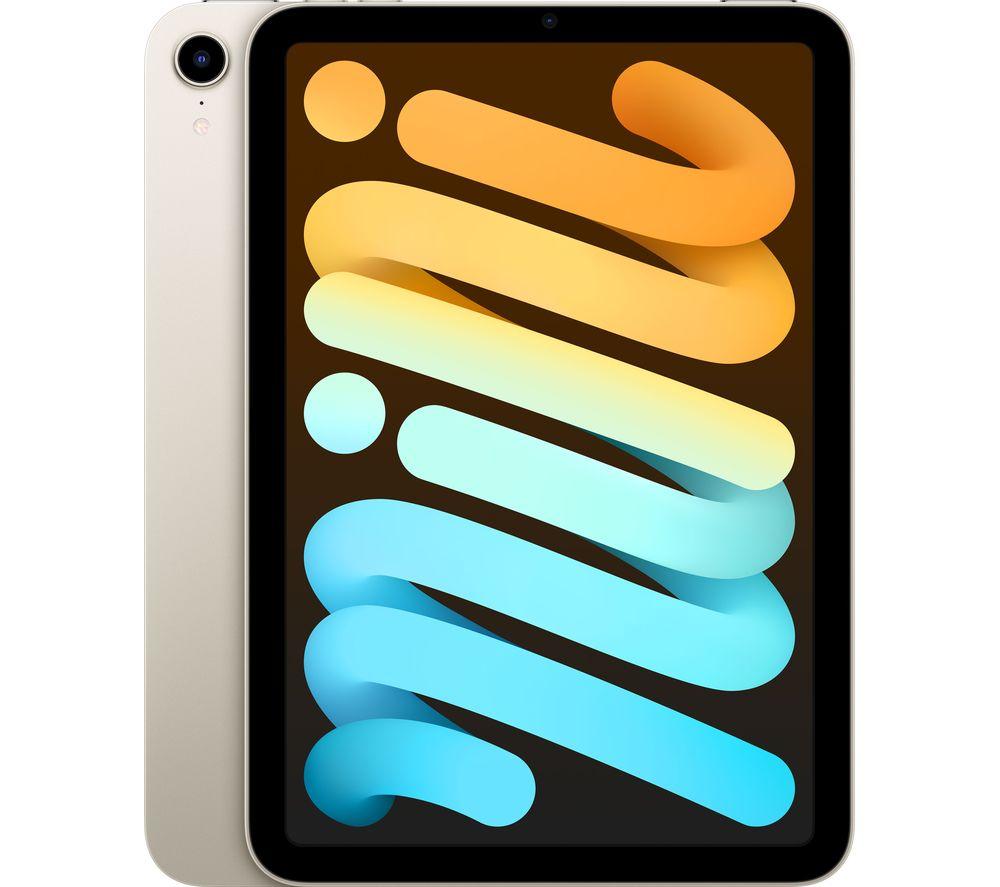 """APPLE 8.3"""" iPad mini (2021) - 64 GB, Starlight"""