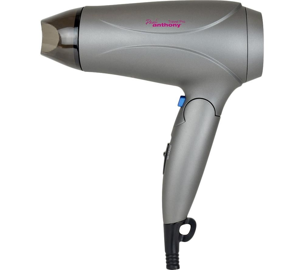 PAUL ANTHONY PAUL ANTHONY Travel Pro H1011GR Hair Dryer - Graphite Grey, Graphite