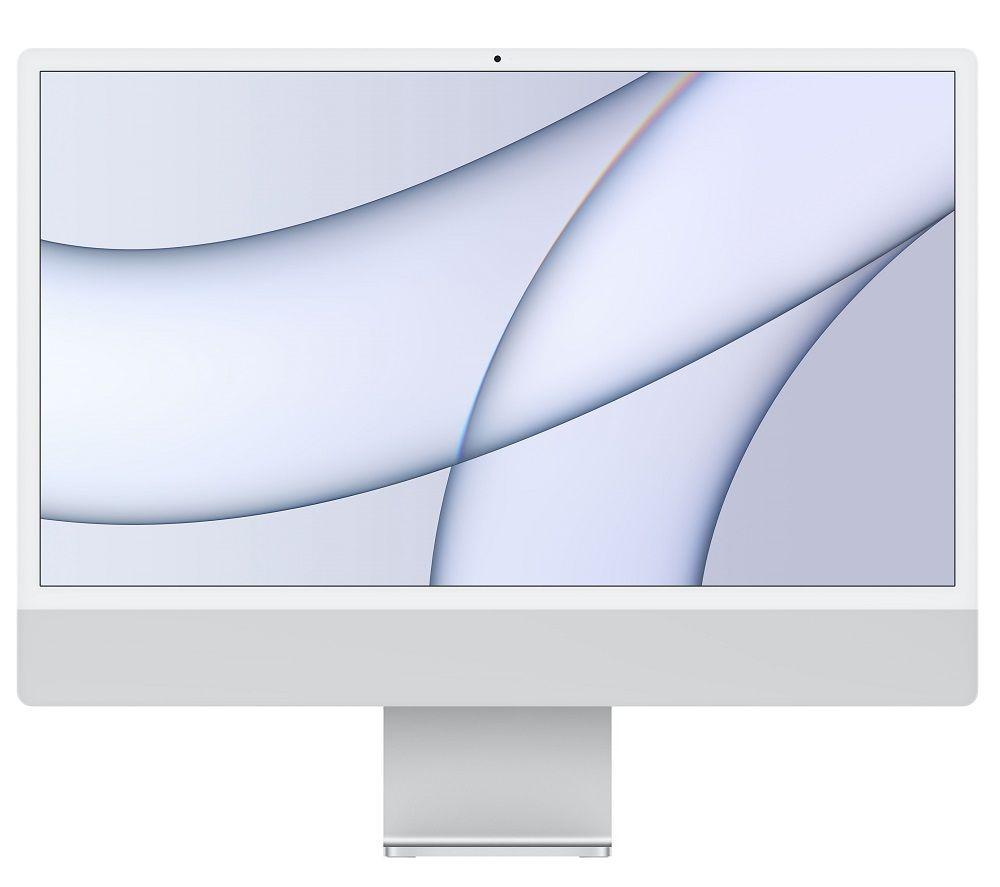 "Image of APPLE iMac 4.5K 24"" (2021) - M1, 256 GB SSD, Silver"