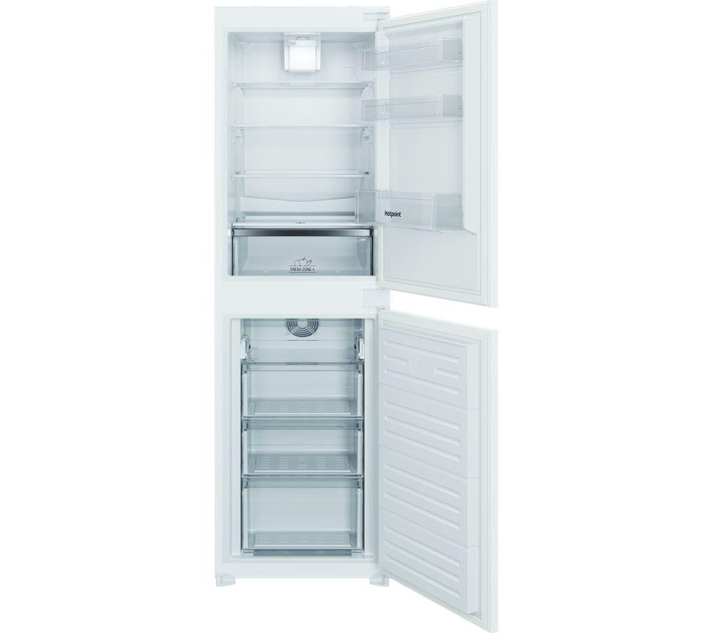 HOTPOINT HBC18 5050 F1 Integrated 50/50 Fridge Freezer - Sliding Hinge