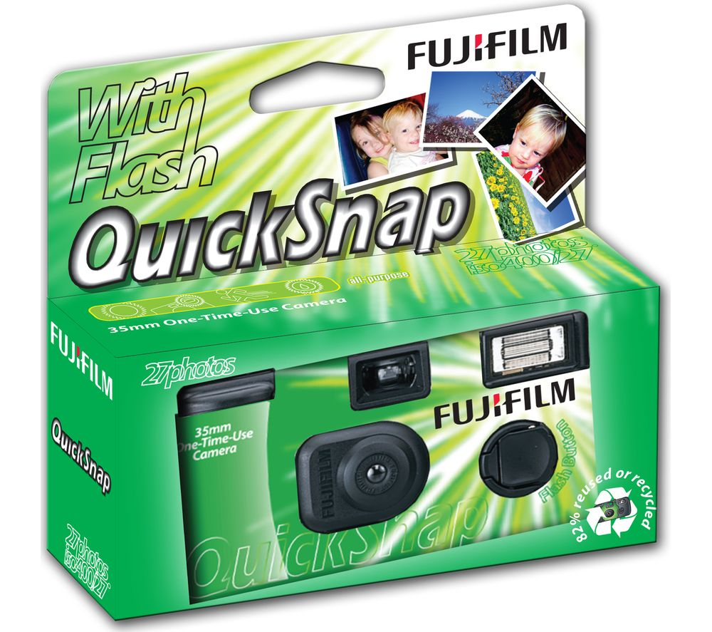 FUJIFILM QuickSnap V400 Single Use Camera