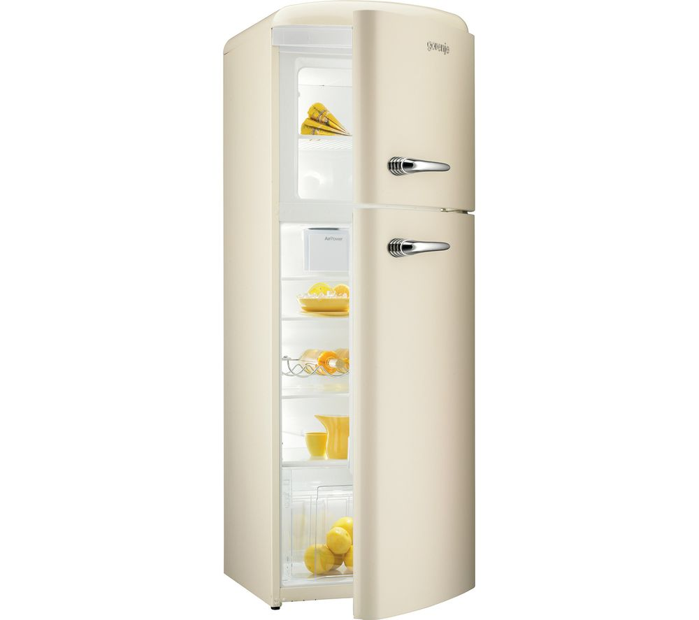 GORENJE RF60309OC Fridge Freezer - Cream