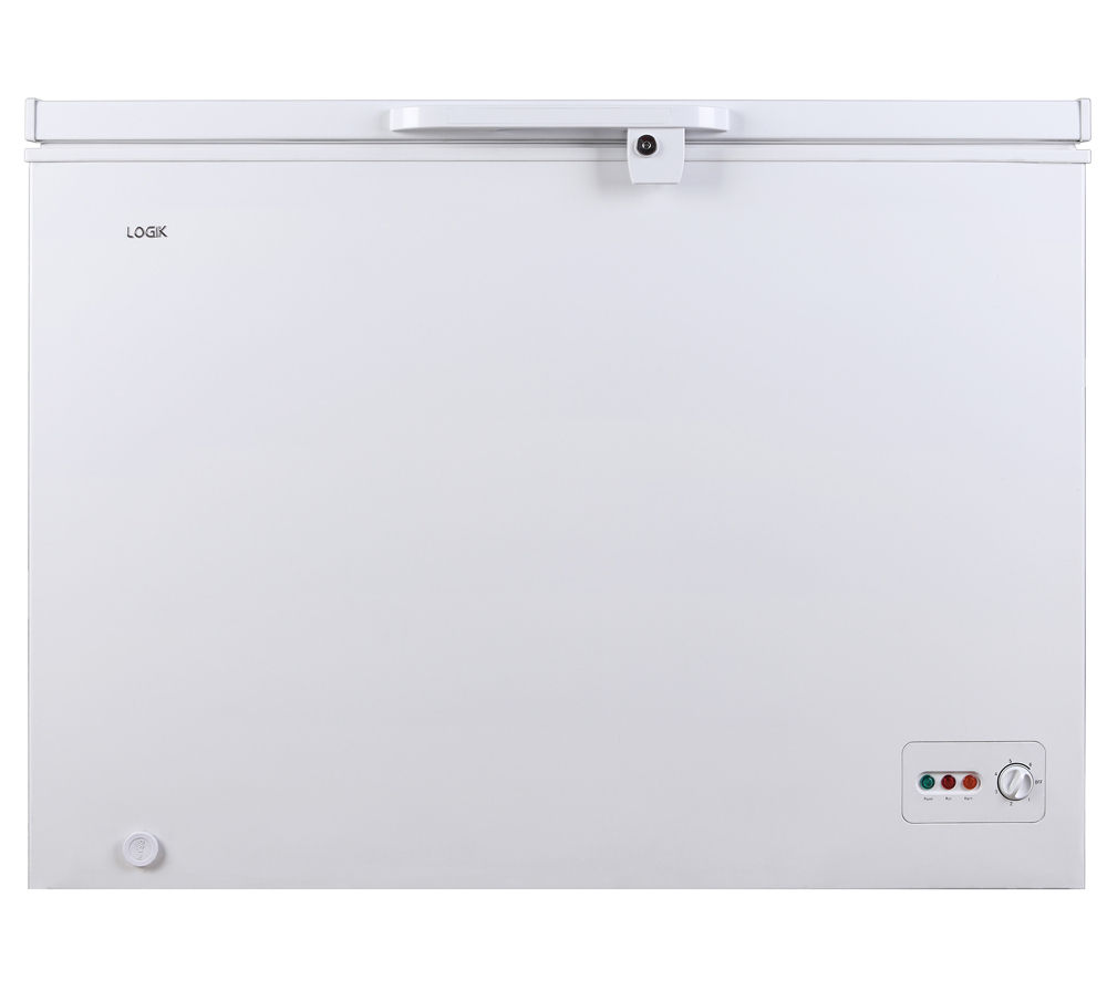LOGIK L300CFW14 Chest Freezer - White, White