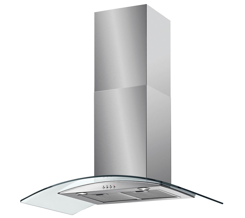 BAUMATIC BT9.3GL Chimney Cooker Hood - Stainless Steel