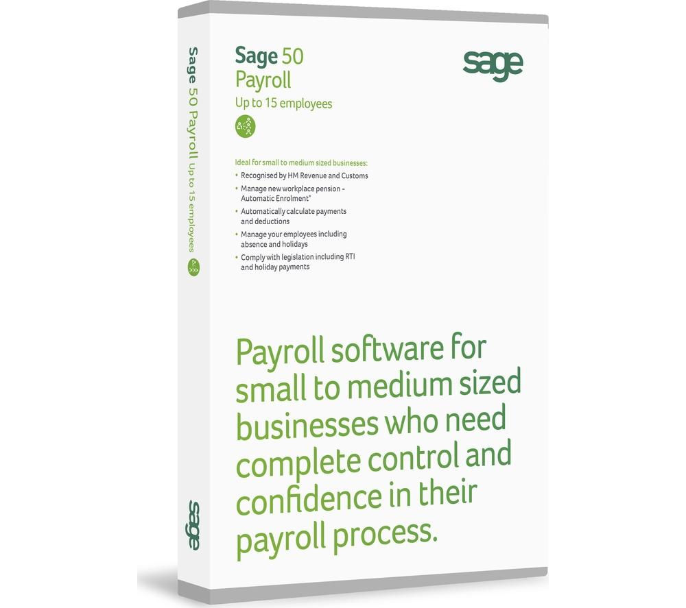 Image of SAGE 50 Payroll - 15 users
