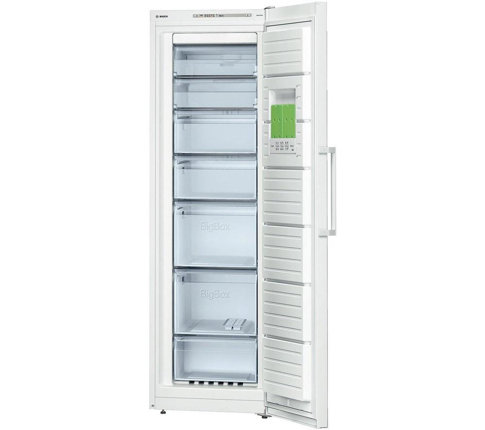 BOSCH Serie 4 GSN36VW30G Tall Freezer - White