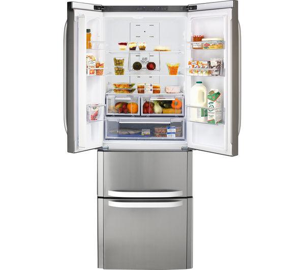 Buy HOTPOINT FFU4DX American-Style Fridge Freezer ...