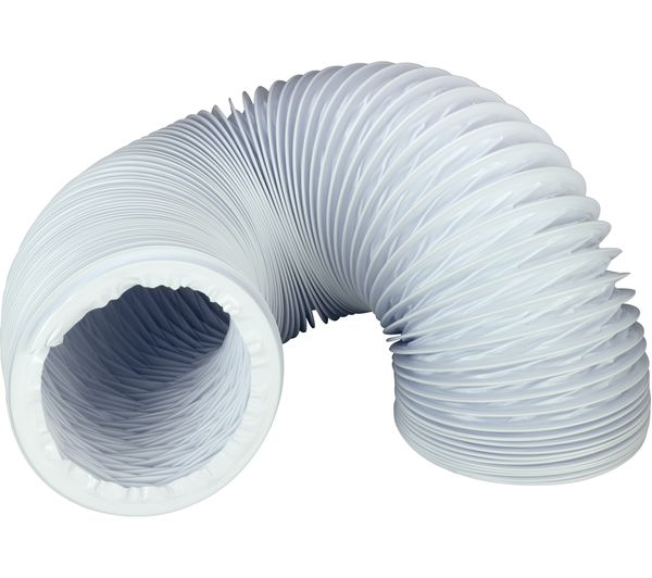 WPRO ASG310 Universal Tumble Dryer Vent Tube - 3 m  sc 1 st  Currys : tumble dryer exhaust pipe - www.happyfamilyinstitute.com