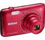 NIKON COOLPIX A300 Compact Camera - Red