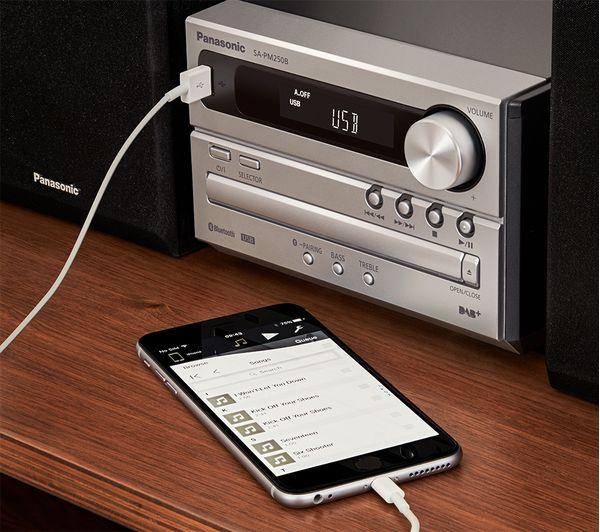 Buy Panasonic Sc Pm250bebs Wireless Traditional Hi Fi