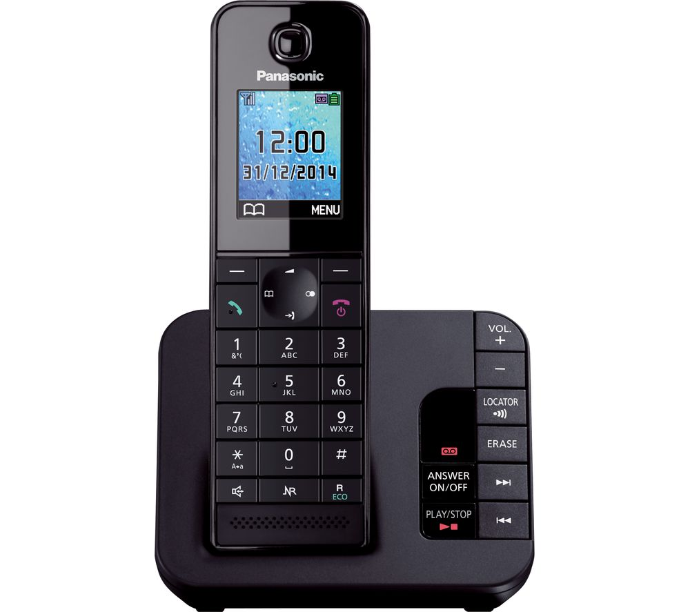 Panasonic Kx Tg8181eb Cordless Phone With Answering Machine