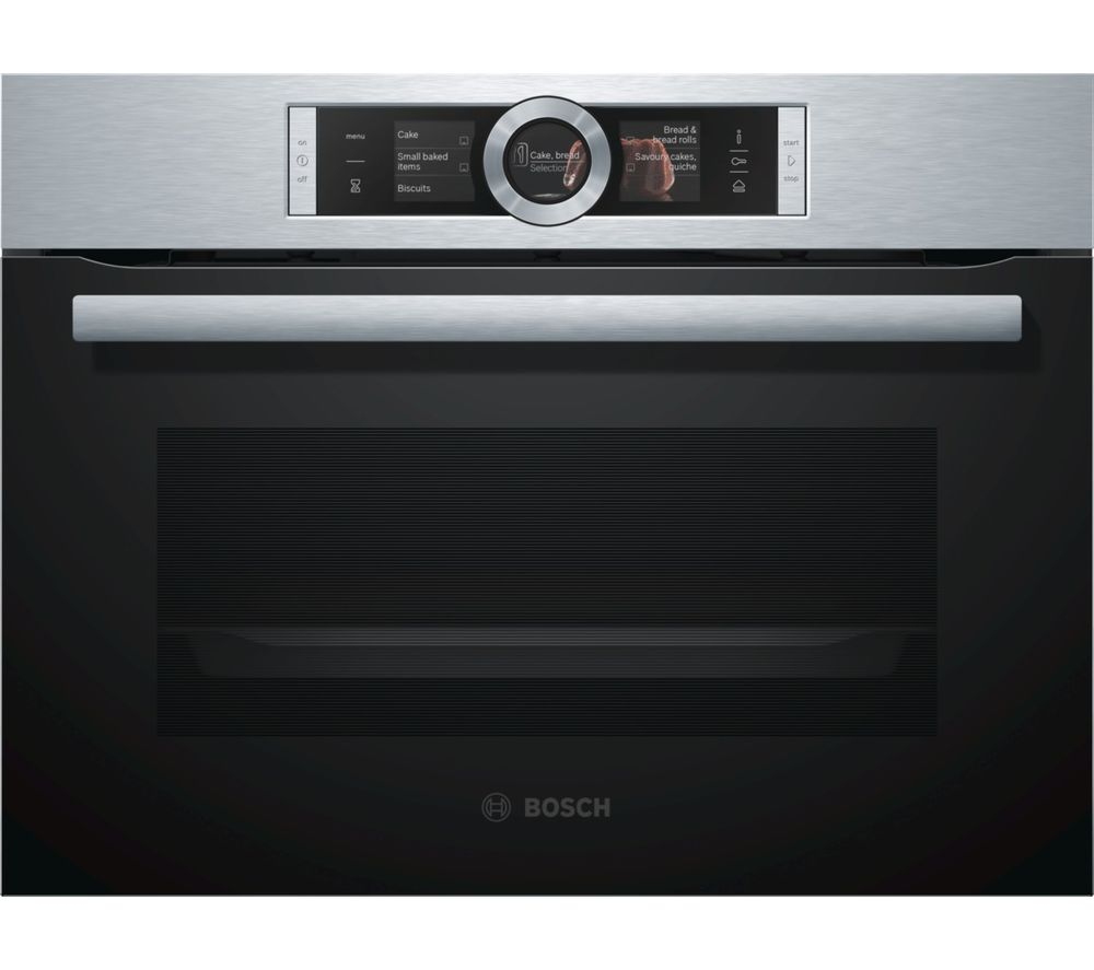 BOSCH CSG656BS1B Compact Electric Steam Oven - Stainless Steel