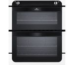NEW WORLD NW701G Gas Built-under Oven - Black & White