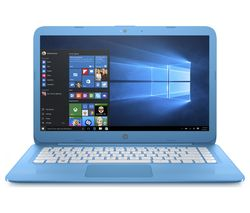 "HP Stream 14-ax050sa 14"" Intel® Celeron™ Laptop - 32 GB eMMC, Blue"