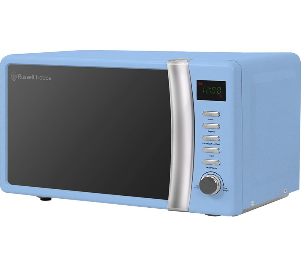 RUSSELL HOBBS RHMD702BL Compact Solo Microwave - Blue