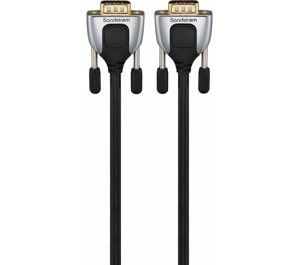 SANDSTROM SVGA3M17 Premium SVGA Cable - 3 m