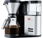MELITTA AromaElegance Filter Coffee Machine - Black & Stainless Steel